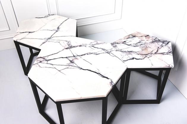 幾何形組合桌 1